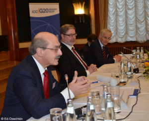 ICC meets in Berlin to seek business input to G20 agenda.