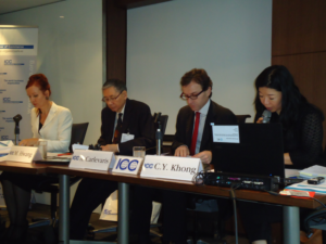Secretary General of the ICC International Court of Aribration Andrea Carlevaris spoke at the first arbitration masterclass in Hong Kong.