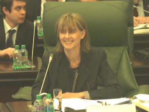 Elisabeth Logeais speaks at the ICC Intellectual Property Commission