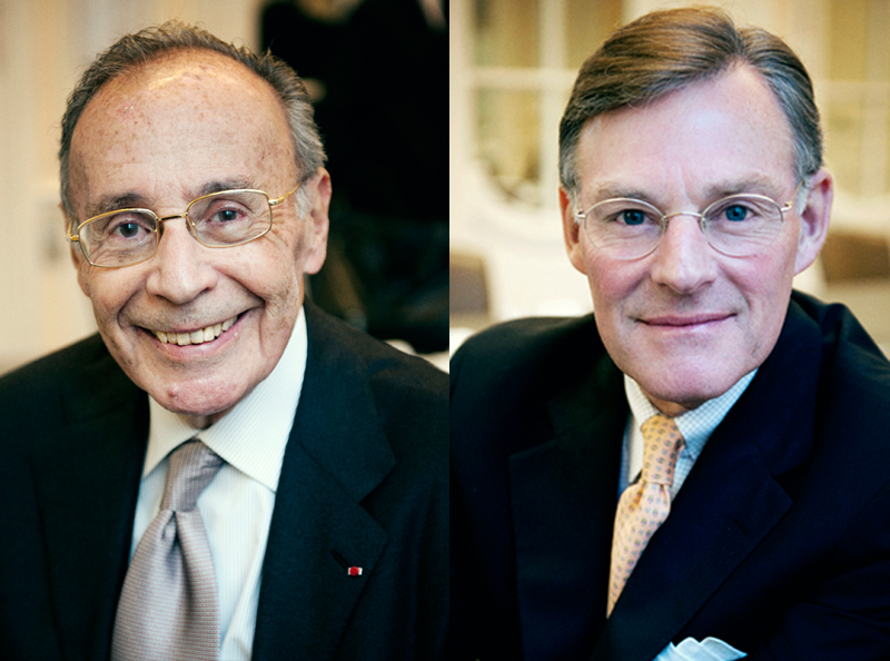 ICC elected leaders: (Left) Gerard Worms, ICC Chairman, and (Right) Harold McGraw III, ICC Vice-Chairman