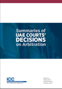 ICC publishes English guide to arbitration cases in UAE