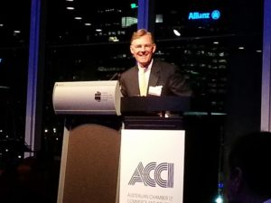 Mr McGraw met with ACCI in Sydney to prepare for the 2014 G20 Summit