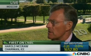 CNBC interview with ICC Chairman Terry McGraw