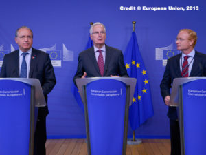 The report was presented on Monday in Brussels