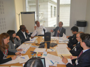 ICC PIDA participants at the ICC Hearing centre
