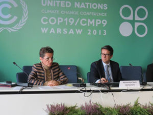 ICC participated in a range of events during the COP 19 in Warsaw