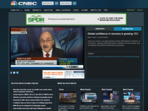 Jean-Guy Carrier spoke live on the CNBC global business programme Morning Exchange