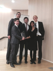 Munich students win ICC Mediation Competition 2014