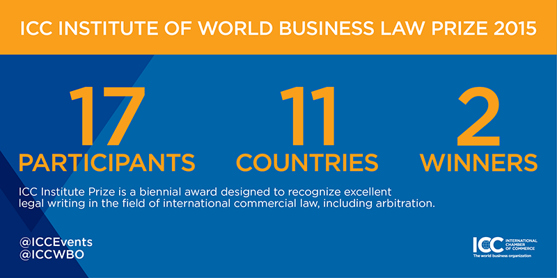 ICC Institute of World Business Law Prize 2015