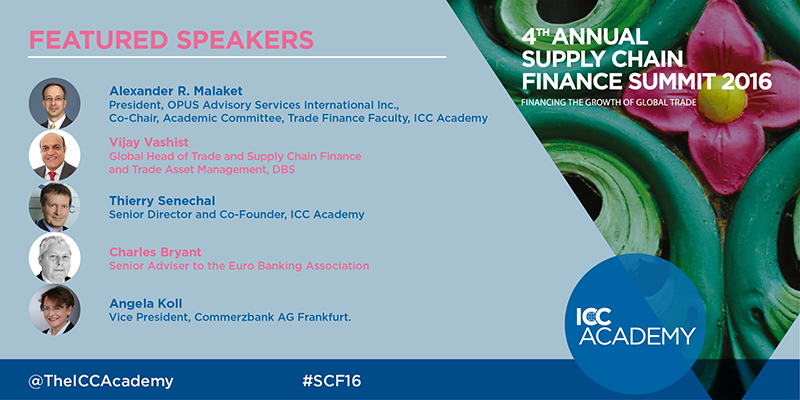 ICC Academy Global Supply Chain Finance Summit Speakers