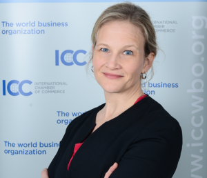 ICC BASIS DIrector Elizabeth Thomas-Raynaud