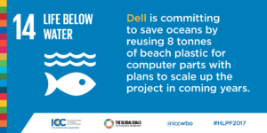 ICC Dell save oceans
