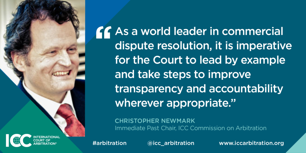Quote from Past Chair, Christopher Newmark