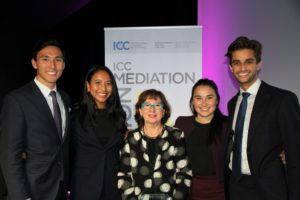 University of NSW, 2018 winner of the ICC Mediation Competition