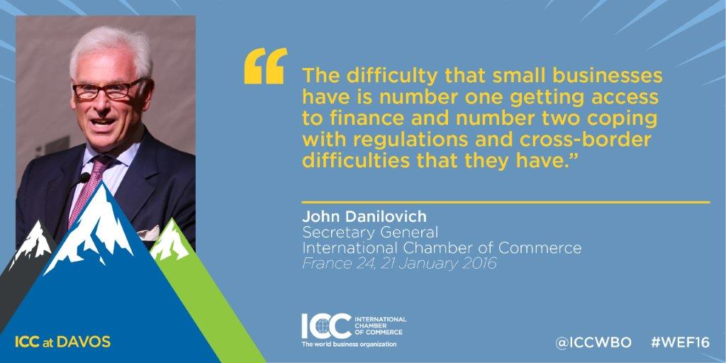 ICC SG John Danilovich Reflects Four Years SMEs