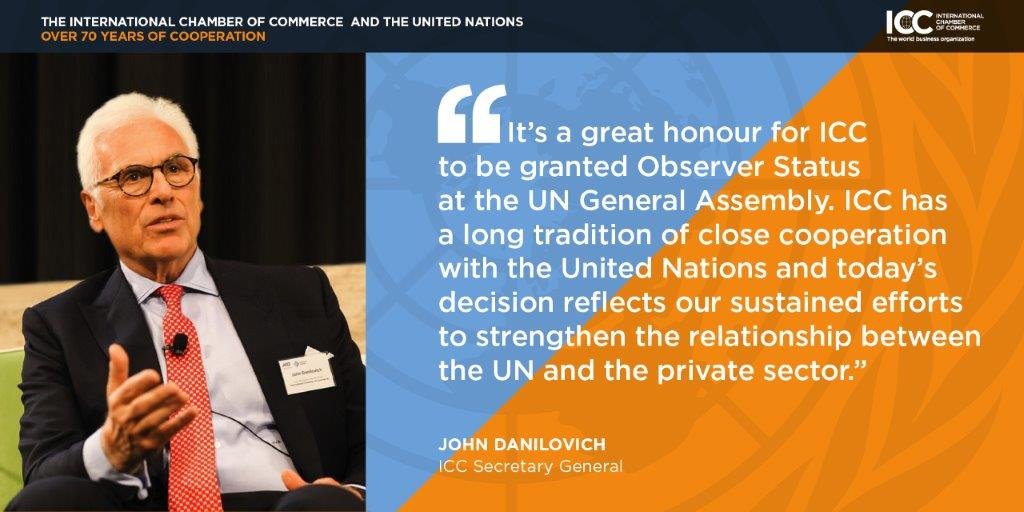 ICC SG John Danilovich Reflects Four Years UN