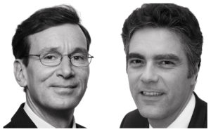 Linklaters partners, Pierre Duprey and Roland Ziadé