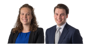 Clifford Chance Associates Jemima Roe and Oliver Carroll