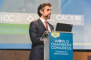 Hamad Buamim, Chair Of World Chambers Federation And President And CEO Of Dubai Chamber.